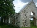 Autor: Heiki Siider. Järvamaa, Koigi vana sepikoja taastatud kivimüürid.