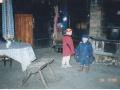 Autor: Rait Reila. Raplamaa, Märjamaa vald, Pikamäe talu, Lestima küla, rehemaja köök 2003. aastal.