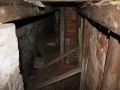 Taastamistööde käigus leitud kütmisruum