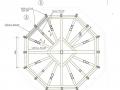 Nelitise puitkonstruktsioon. Allikas: Katuse ja tornikiivrite põhiprojekt.