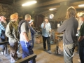Visit to blacksmith Peeter Reemann workshop