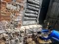 Maakivimüüri taastamise kursus Miiastes 2016. Foto: Sille Ilves