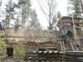 1. päev - vana katuse maha võtmine