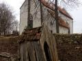 Autor: Rait Reila. Saare maakond, Leisi vald, Linnaku küla. Karja kiriku peldik.