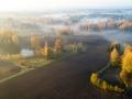 Autor: Jaanus Tanilsoo. Vana talukohu võistlus põlluga - kui põld võidab sissesõidutee taluni, on ka talukoha saatus otsustatud. Hinsa küla, Võrumaa. Oktoober 2018