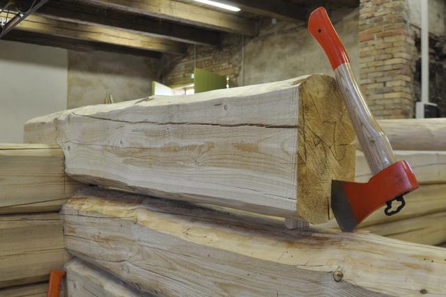 Estonian traditional log building courses