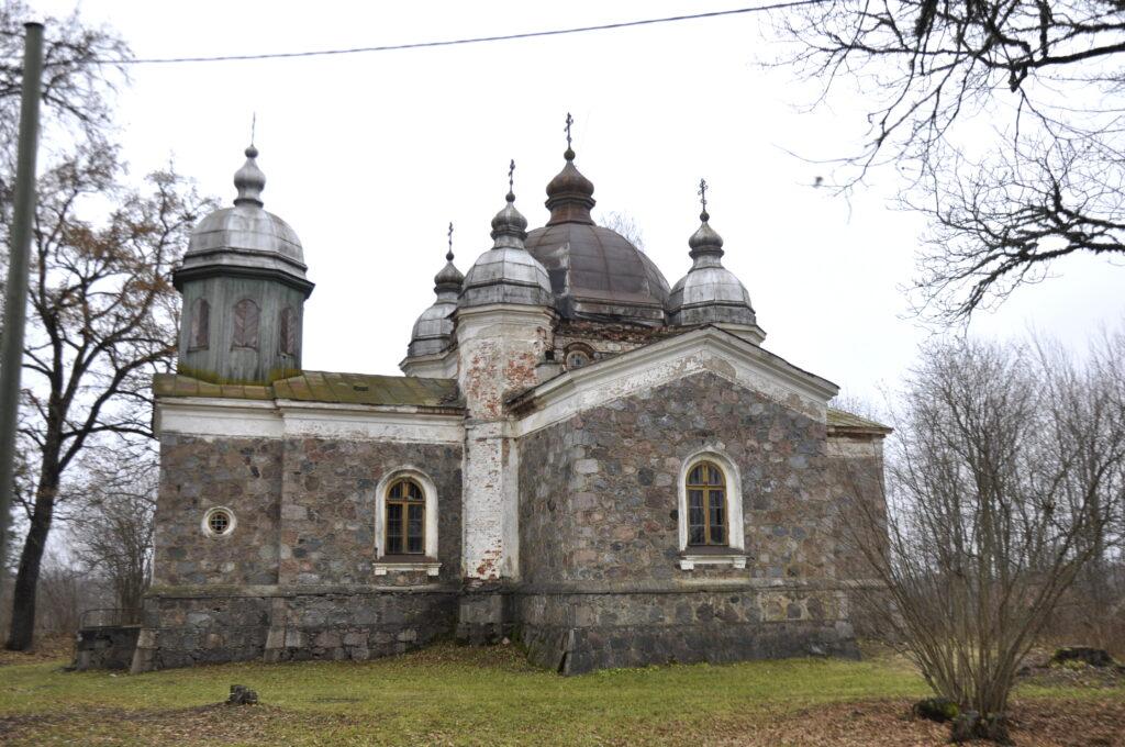Lalsi kirik enne restaureerimistööde algust 2017